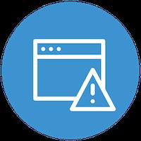 icono monitoreo alerta